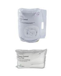 Climate Double Duvet & Pillow Pair