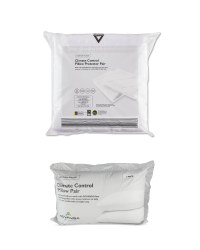 Climate Pillow & Protector Pair