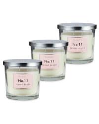 Peony Blush Candle 3 Pack