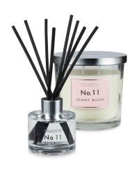 Peony Blush Candle & Diffuser Set