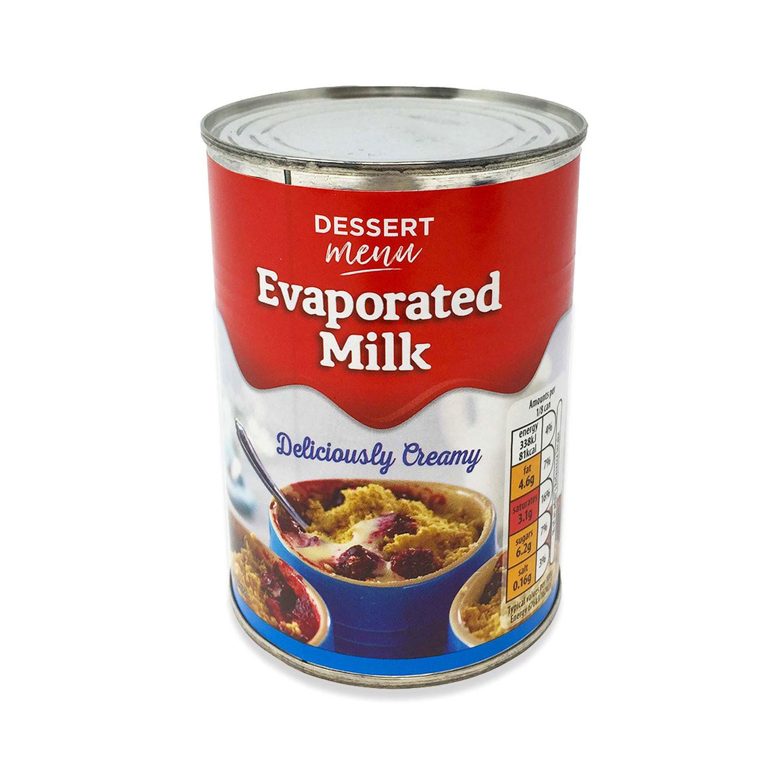 Dessert Menu Evaporated Milk