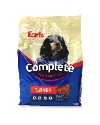 Complete Dry Dog Food Beef