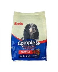 Dry Dog Food With Beef & Vegetables
