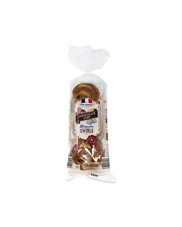 Chocolate Chip Brioche Swirls