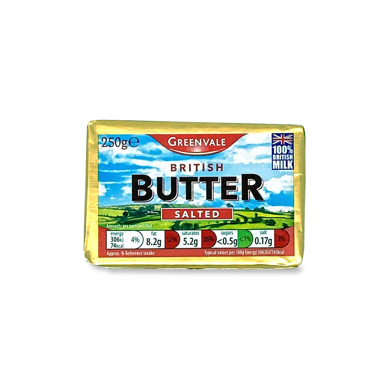 British Butter Salted