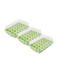 Gardenline Propagator Set 3 Pack