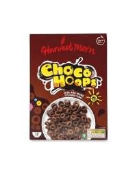 Harvest Morn Choco Hoops 375g