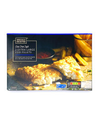 2 Extra Large Cod Fillets