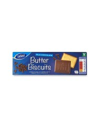 Milk Chocolate Butter Biscuits