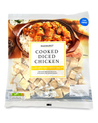 Cooked Diced Chicken