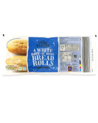 Part Baked White Rolls