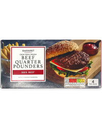 100% Beef Quarter Pounders