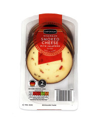 Smoked Cheese Slices Jalapeno
