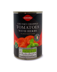 Chunky Chopped Tomatoes With Herbs
