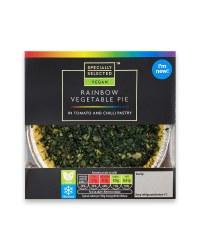 Rainbow Vegetable Pie