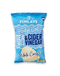 Ridge Cut Salt & Vinegar Crisps