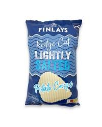 Ridge Cut Lightly Salted Crisps