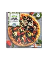 Stonebaked Spinach & Ricotta Pizza
