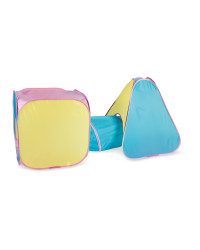 Little Town Kids' Pastel Play Tent