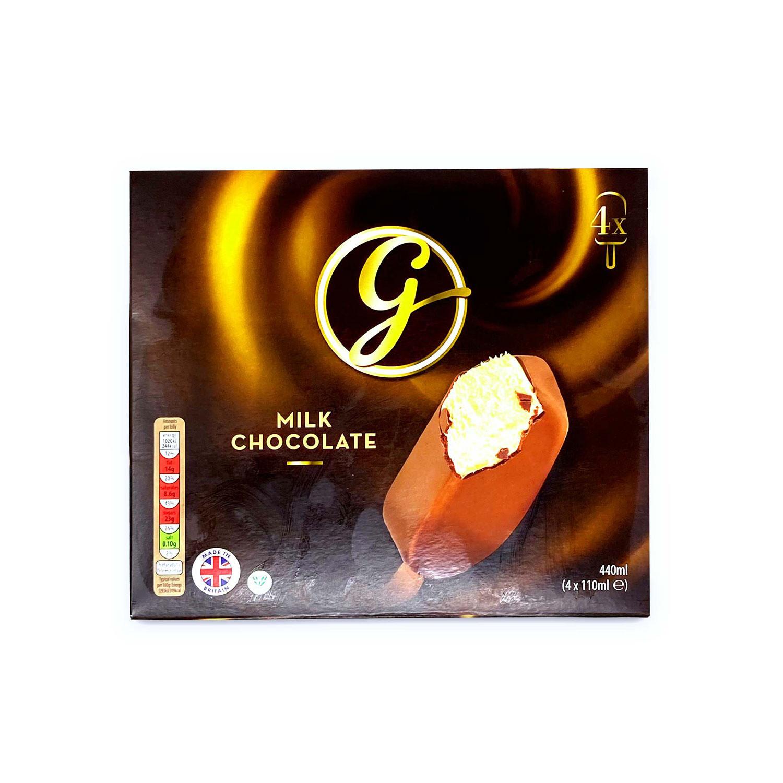 Milk Chocolate Ice Creams