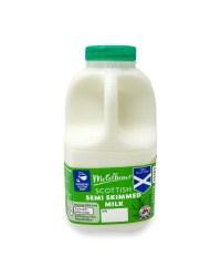 Scottish Semi Skimmed Milk
