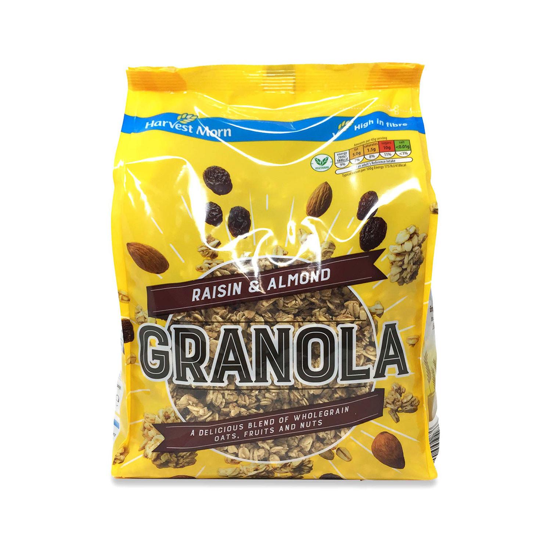 Raisin & Almond Granola