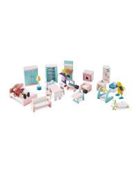 Doll's House Indoor Furniture Set