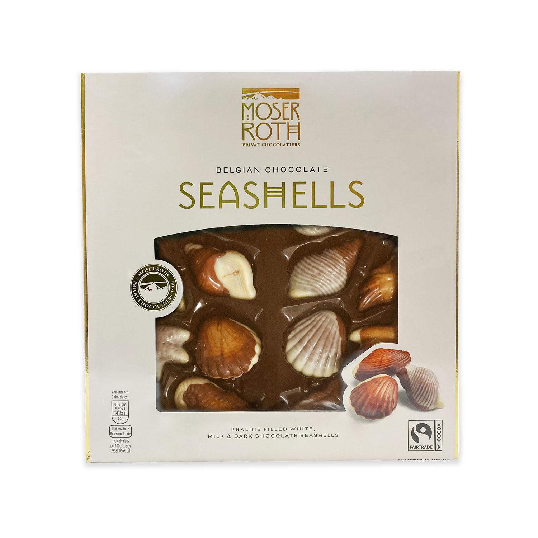 Belgian Chocolate Seashells