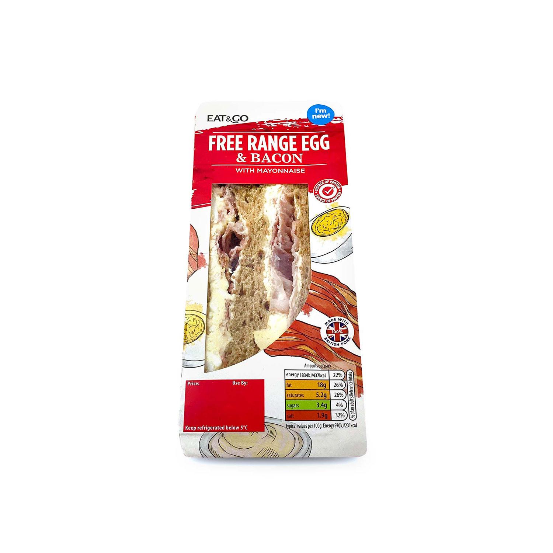 Free Range Egg & Bacon Sandwich