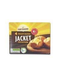 4 Ready Baked Jackets