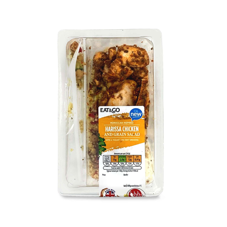 Harissa Chicken And Grain Salad