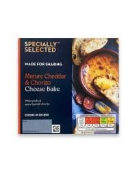 Cheddar & Chorizo Cheese Bake