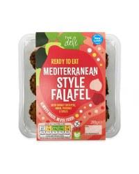 Mediterranean Style Falafels