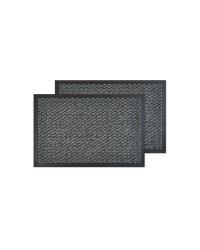Grey Fleck Utility Mats Twin Pack