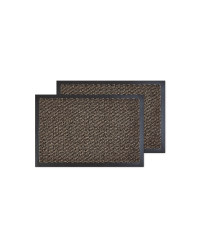 Brown Fleck Utility Mats Twin Pack