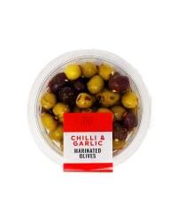 Chilli & Garlic Marinated Olives