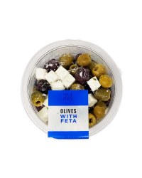 The Deli Olives With Feta 150g