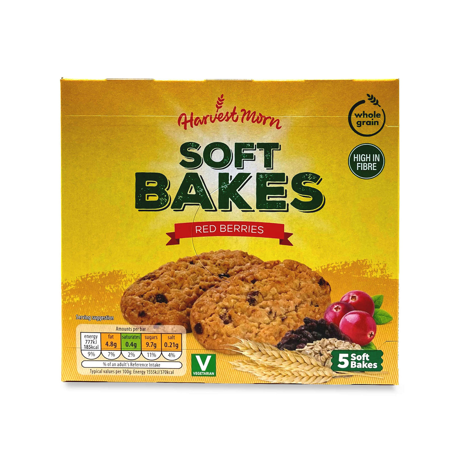 Soft Bakes Red Berries