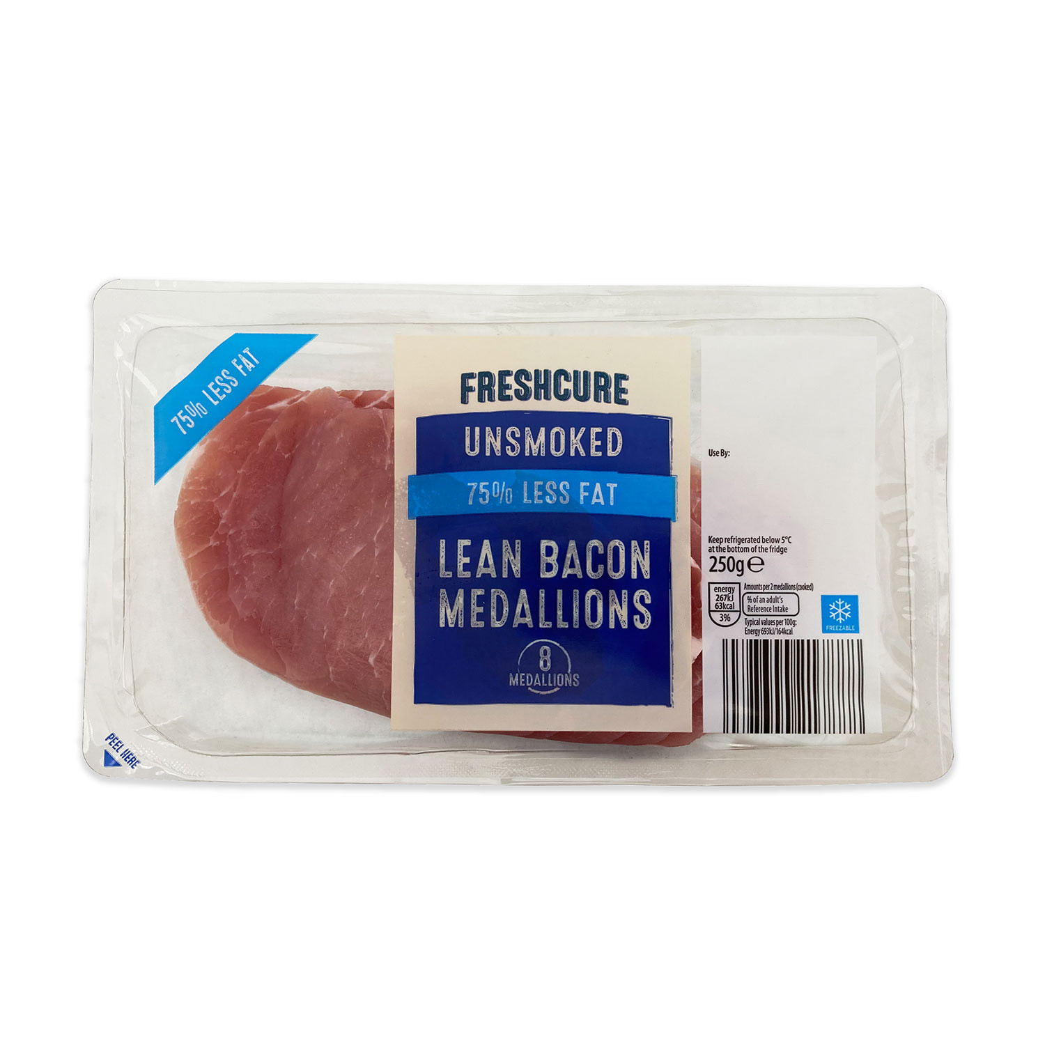 Unsmoked Lean Bacon Medallions