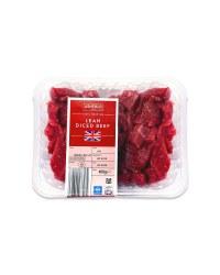 100% British Lean Diced Beef