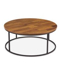 Oak Effect Large Coffee Table