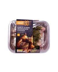 Garlic & Herb Spatchcock Chicken
