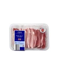 British Pork Belly Slices