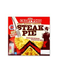 Puff Pastry Topped Steak Pie