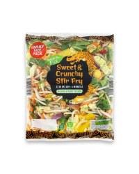Sweet & Crunchy Stir Fry