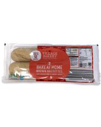 2 Bake At Home Brown Baguettes