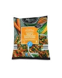 Carrot, Peas And Sweetcorn