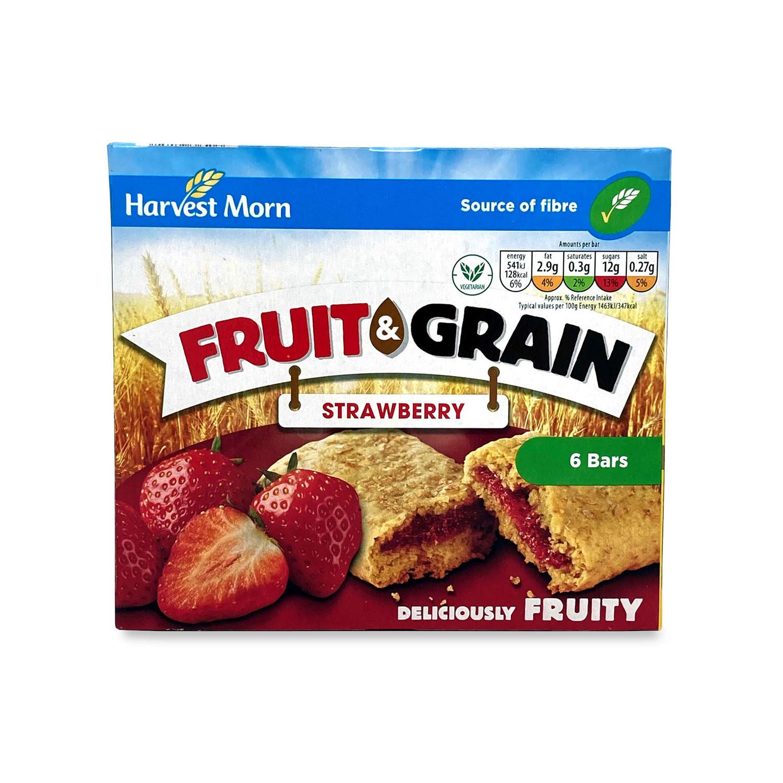 Fruit & Grain Strawberry Cereal Bars