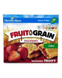 6 Strawberry & Grain Cereal Bars
