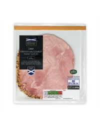 Scottish Arran Mustard® Ham Slices